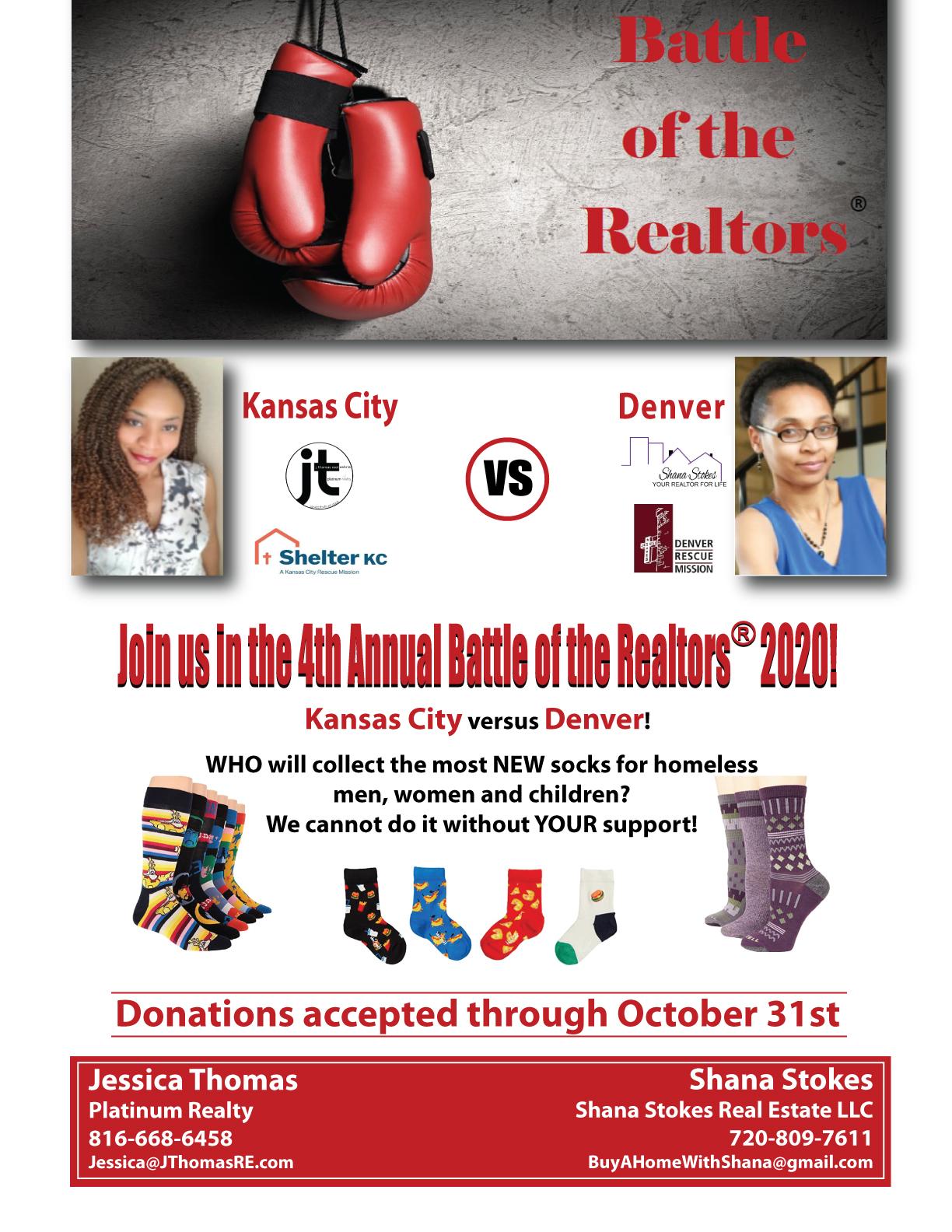 Support Denver's Sock Drive!