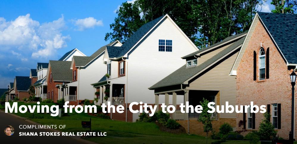 Neighborhood of Suburban Homes